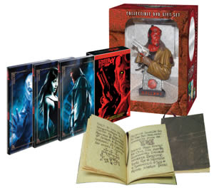 DVD de Hellboy: Edición Coleccionista