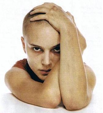 Natalie Portman en V de Vendetta