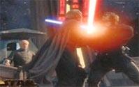 Combate entre Anakin y Dooku