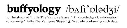Buffyology