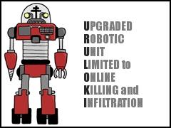 U.R.U.L.O.K.I.: Upgraded Robotic Unit Limited to Online Killing and Infiltration
