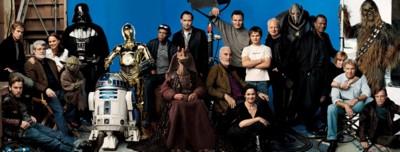 Foto familiar del mundo Star Wars