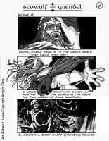 Beowulf y Grendel Storyboard