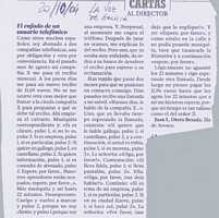 Carta Al Director La Voz De Galicia