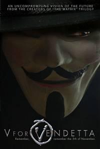 Póster de V for Vendetta