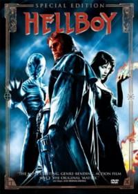 Portada del DVD de Hellboy USA