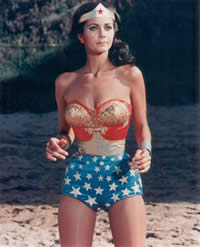 Lynda Carter como Wondwer Woman!