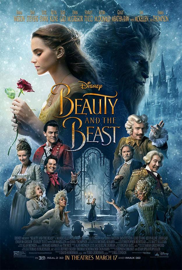 Nuevo cartel de La bella y la bestia