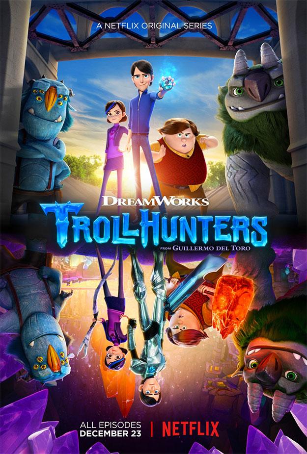 """Cartel de """"Trollhunters"""""""