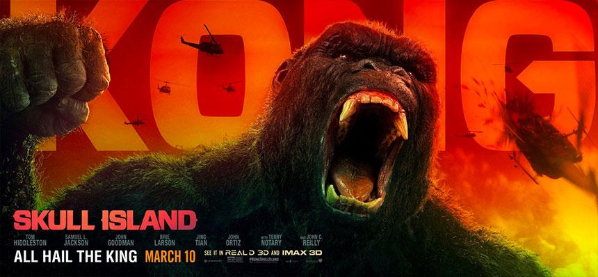 Cartel de Kong: la Isla Calavera