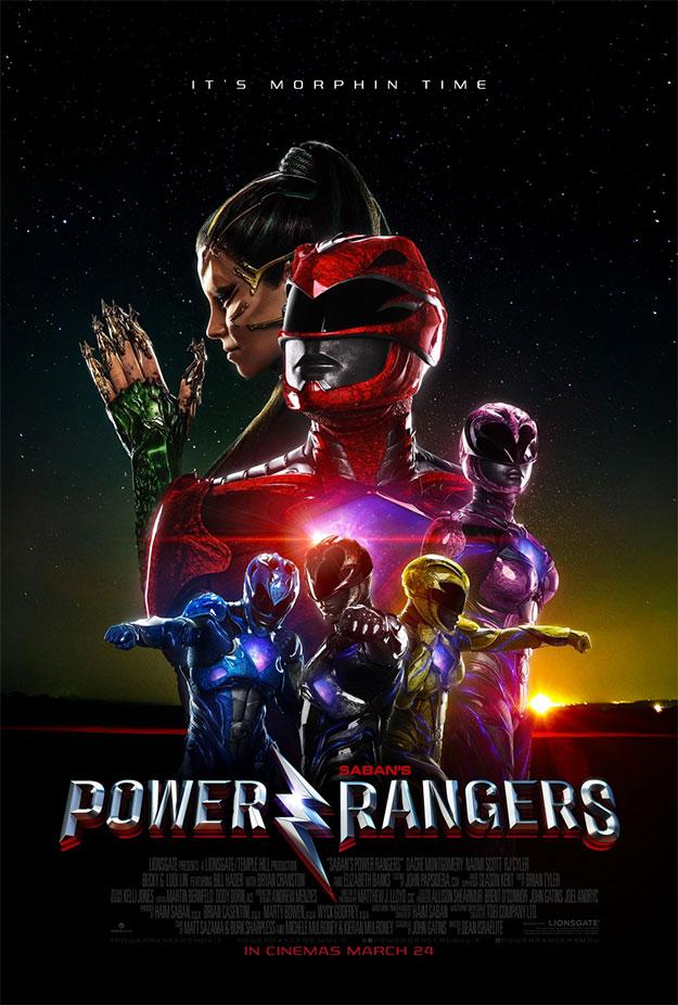 Nuevos carteles de Power Rangers y Kong: la isla Calavera