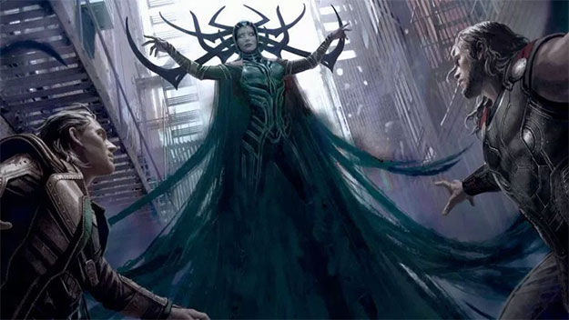 Sorprendente concept art de Thor: Ragnarok