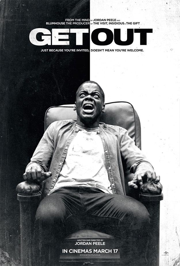 Nuevo cartel de Get Out... esta va a molar