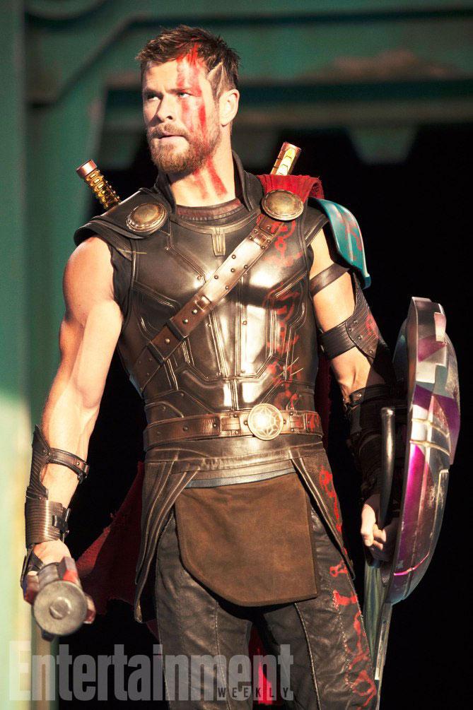 Imagen del rodaje de Thor: Ragnarok