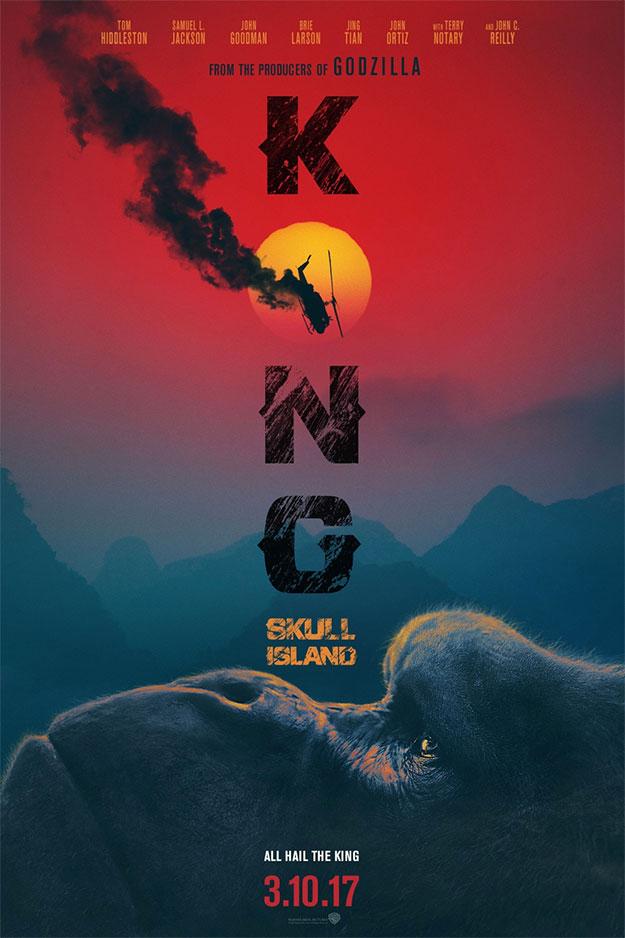 Otro cartel más de Kong: la Isla Calavera