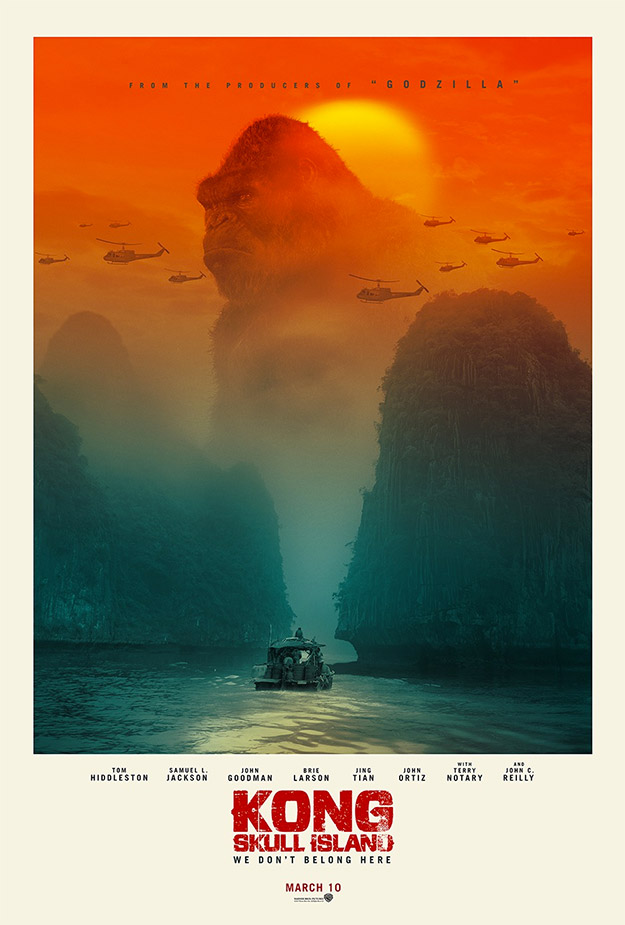 Otro de los carteles molones de Kong: La Isla Calavera