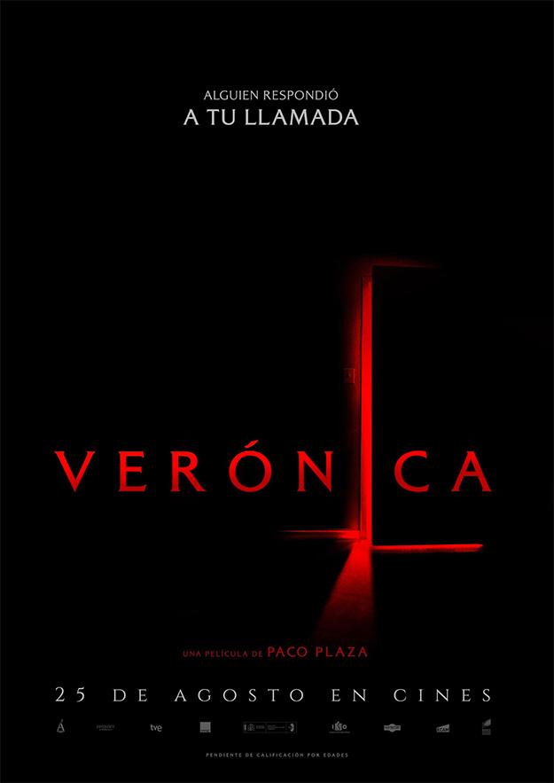 Primer cartel del film de terror Verónica de Paco Plaza