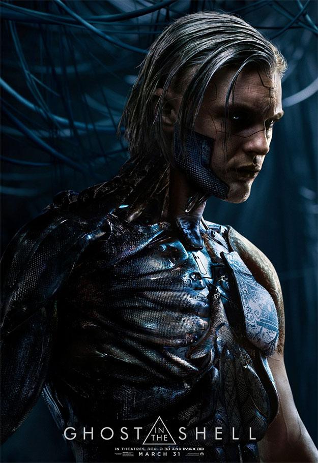 Nuevo cartel de Michael Pitt como el gran villano de Ghost in the Shell