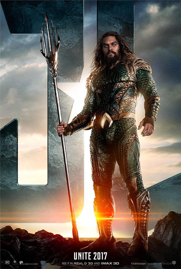 Un nuevo cartel de Justice League: Aquaman