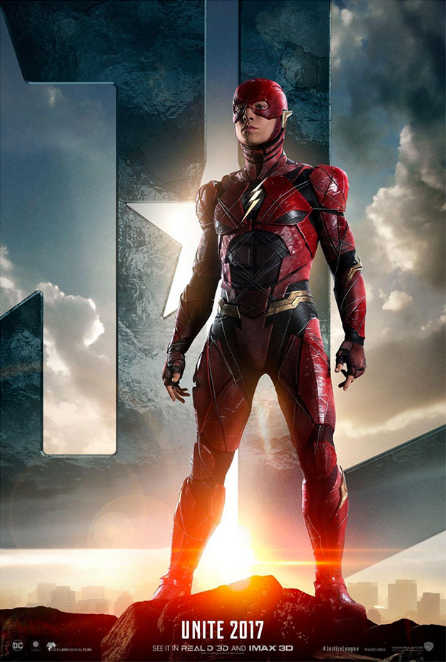 Un nuevo cartel de Justice League: The Flash