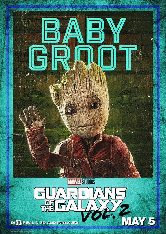 Nuevo cartel de Guardianes de la Galaxia Vol. 2