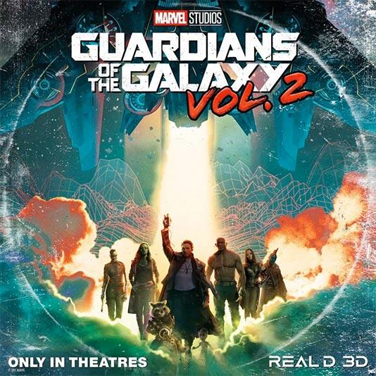 A molar con Guardianes de las Galaxia Vol. 2