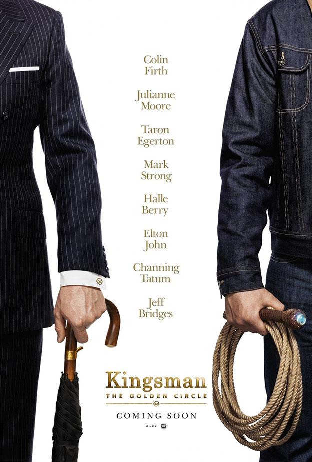 Cartel de Kingsman: el círculo de oro