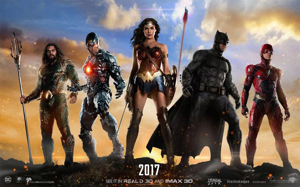 Y otro más de Justice League, porque lo merecemos