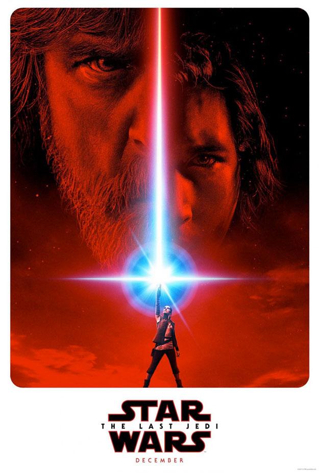 Primer cartel para promoción de Star Wars: Los Últimos Jedi