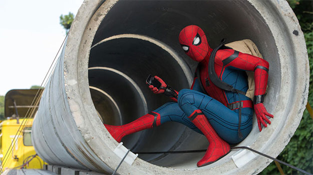 Otro vistazo a un viajo de incógnito Hombre Araña en Spider-Man: Homecoming