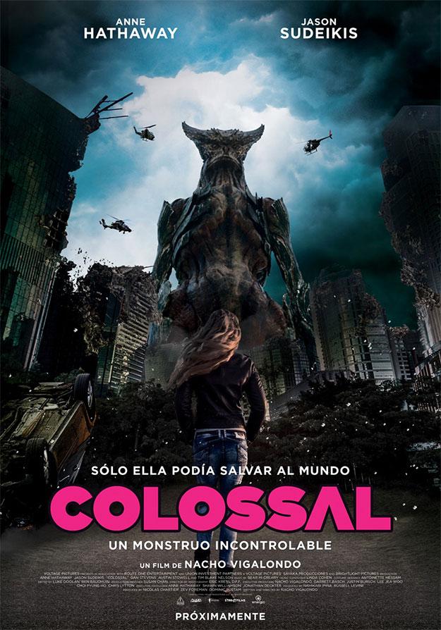El cartel patrio de Colossal de Nacho Vingalondo