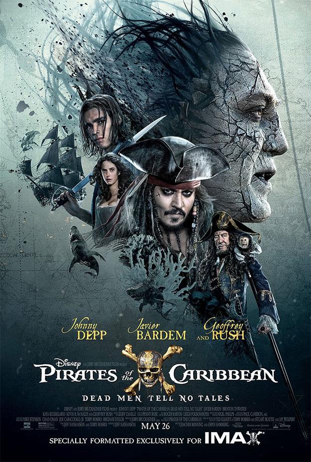 Un cartel más de Piratas del Caribe: la venganza de Salazar, aunque el mejor