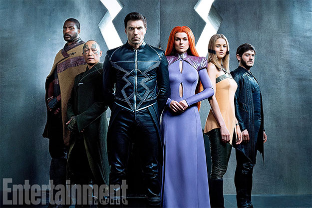"""La familia que crece unida permanece unida... """"Marvel's Inhumans"""""""