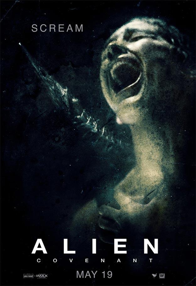 Otro cartel más de Alien: Covenant