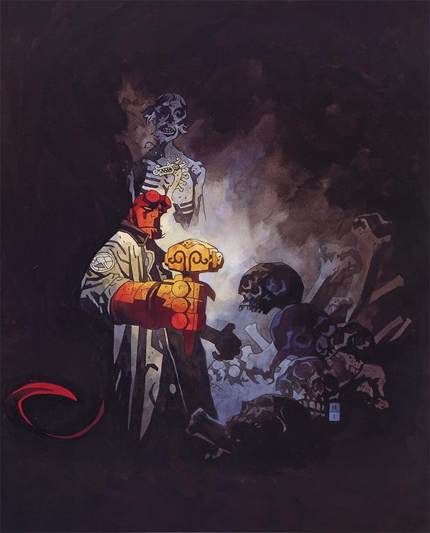Hellboy por Mike Mignola, obra maestra