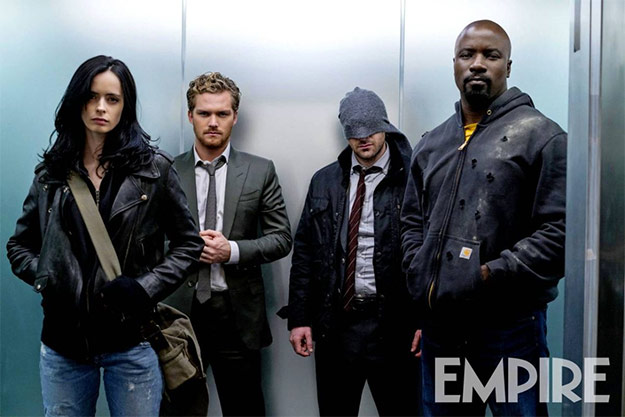"""Otra imagen más de """"Marvel's The Defenders"""""""