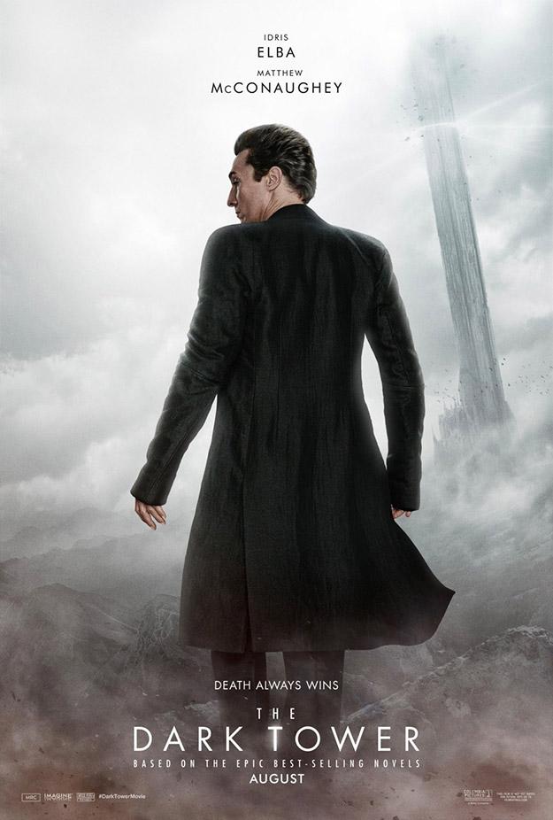Matthew McConaughey como el Hombre de Negro en La Torre Oscura