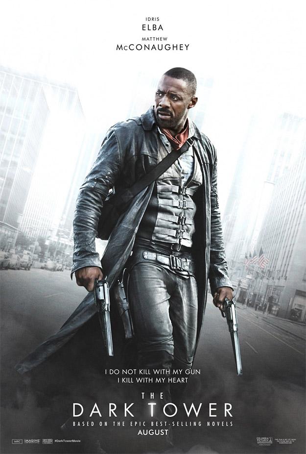 Idris Elba como Roland Deschain en La Torre Oscura