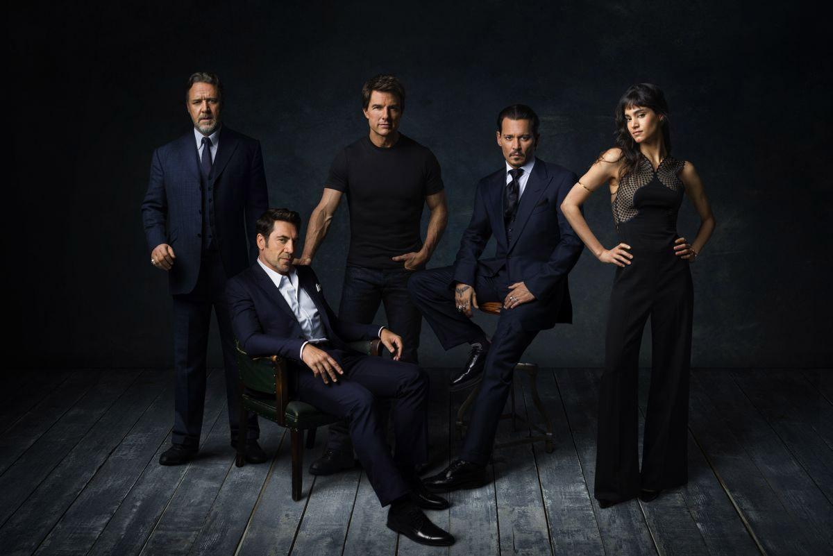 Los primeros nombres del Dark Universe... el Dr. Henry Jekyll, Frankenstein, Nick Morton, el Hombre Invisible y la Momia