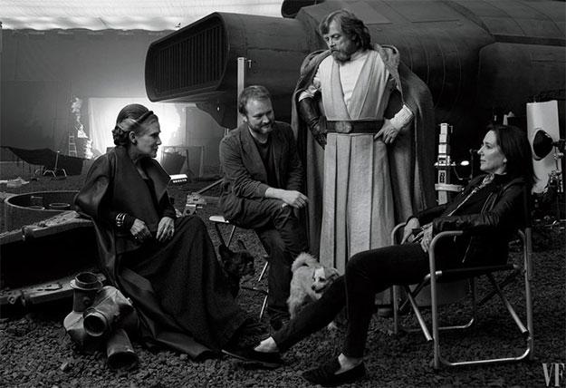 Imagen de estudio de Star Wars: Los Últimos Jedi