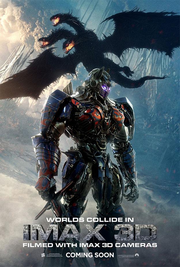 Y otro cartel más de Imax 3D... ¿no?