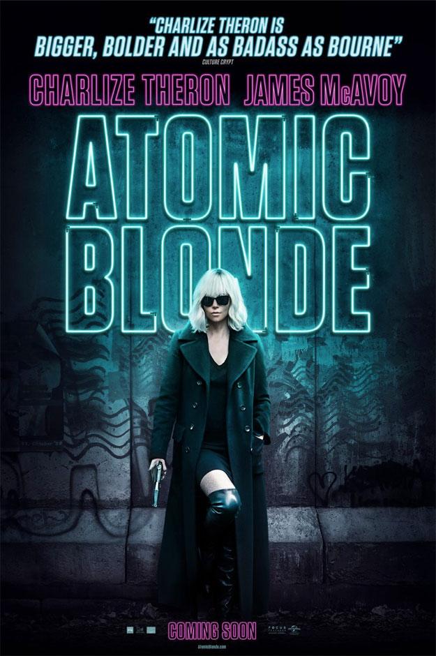 El nuevo cartel de Atómica y cómo Charlize Theron mola más que Jason Bourne