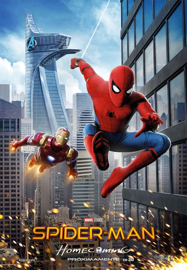 El nuevo cartel de Spider-Man: Homecoming