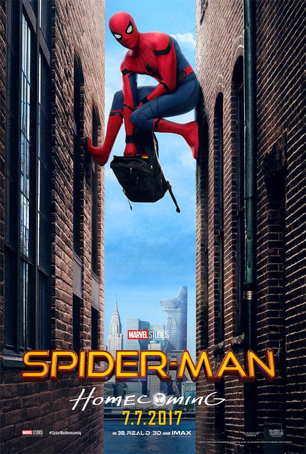 Simpático cartel de Spider-Man: Homecoming