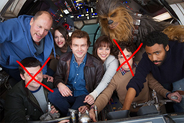 ¿Phil Lord y Chris Miller despedidos de la silla de dirección de Han Solo por Kathleen Kennedy?