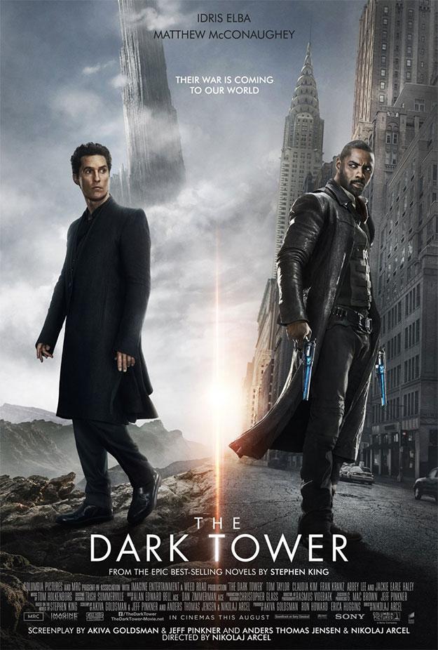 Horrible cartel de La Torre Oscura
