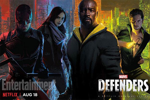 Cartel de Marvel's The Defenders