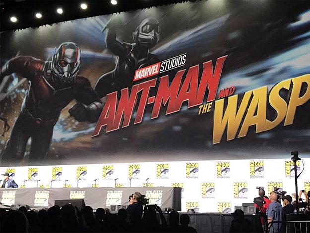 El logo final de Ant-Man and the Wasp