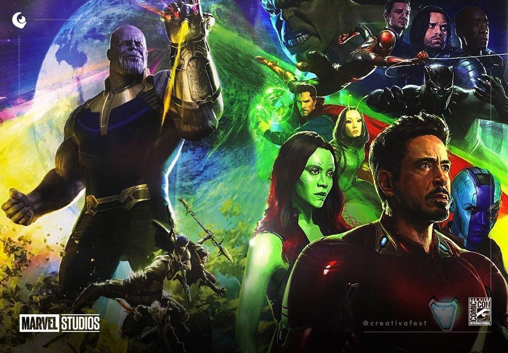 Concept art completo de Vengadores: Guerra del Infinito