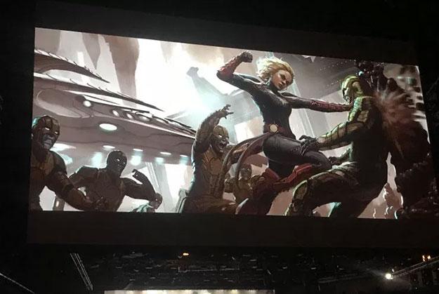 Concept art de Captain Marvel